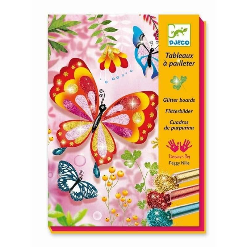 Djeco Σχεδιάζοντας με Χρυσόσκονη Πεταλούδες