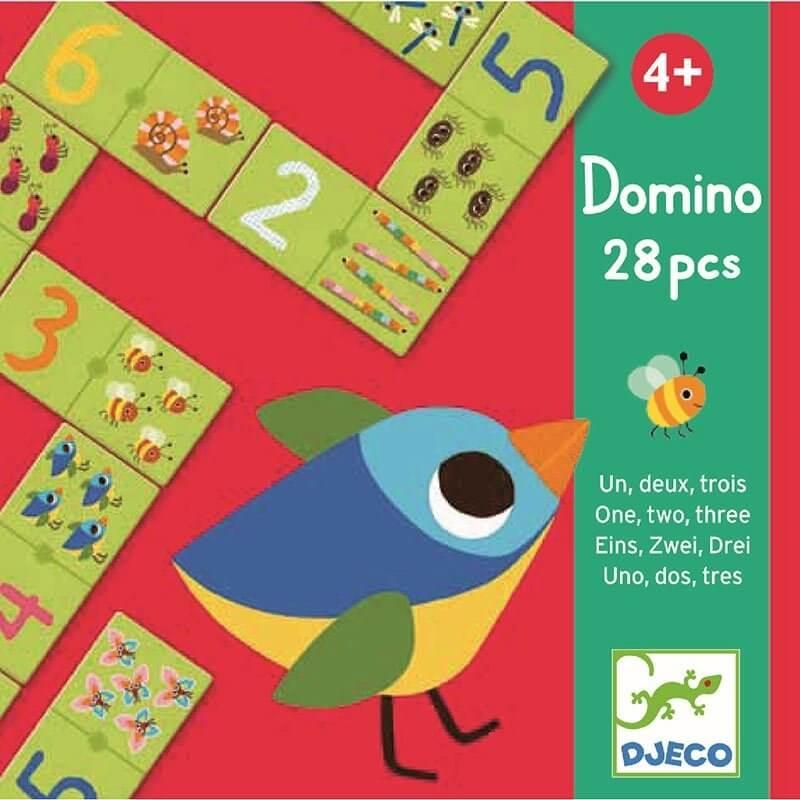 Djeco Ντόμινο Εικόνες και Αριθμοί 28κομ.