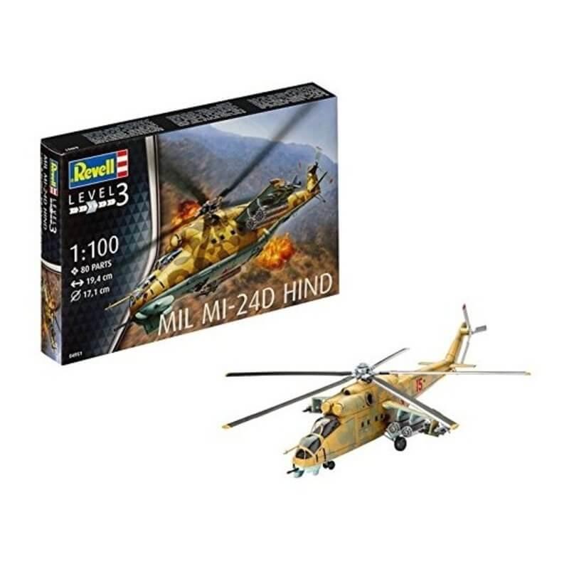 Πολεμικό Ελικόπτερο Mil Ml 240 Hind 1/100