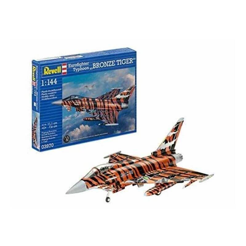 """Πολεμικό Αεροπλάνο 1/144 Eurofighter Typhoon """"Bronze Tiger"""""""
