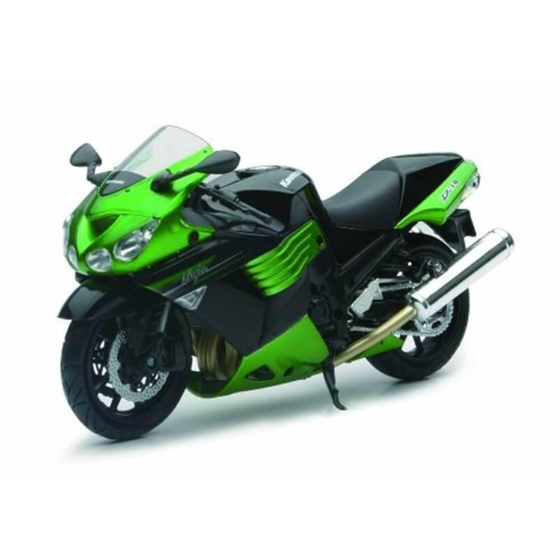 Μοτοσυκλέτα NewRay Kawasaki ZX-14 2011 1/12 πράσινη-μαύρη