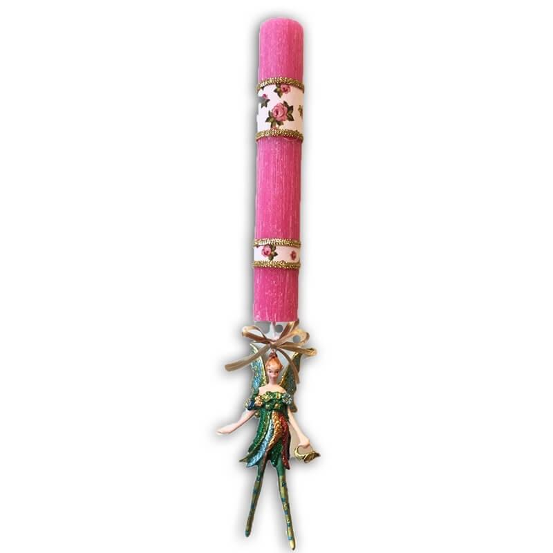 Λαμπάδα Νεράιδα Ρομαντική (σε διάφορα χρώματα)