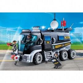 Playmobil Θωρακισμένο Οχημα Ομάδας Ειδικών Αποστολών (9360)