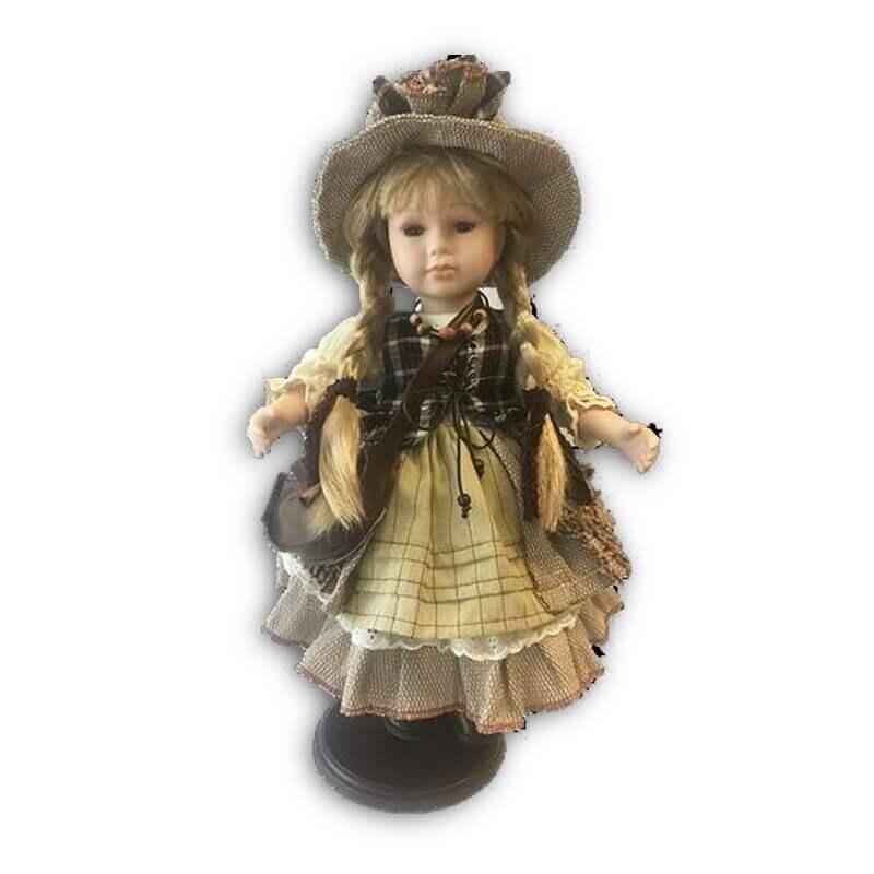 Κούκλα Πορσελάνινη Συλλεκτική RF Collection 42εκ. (122343)