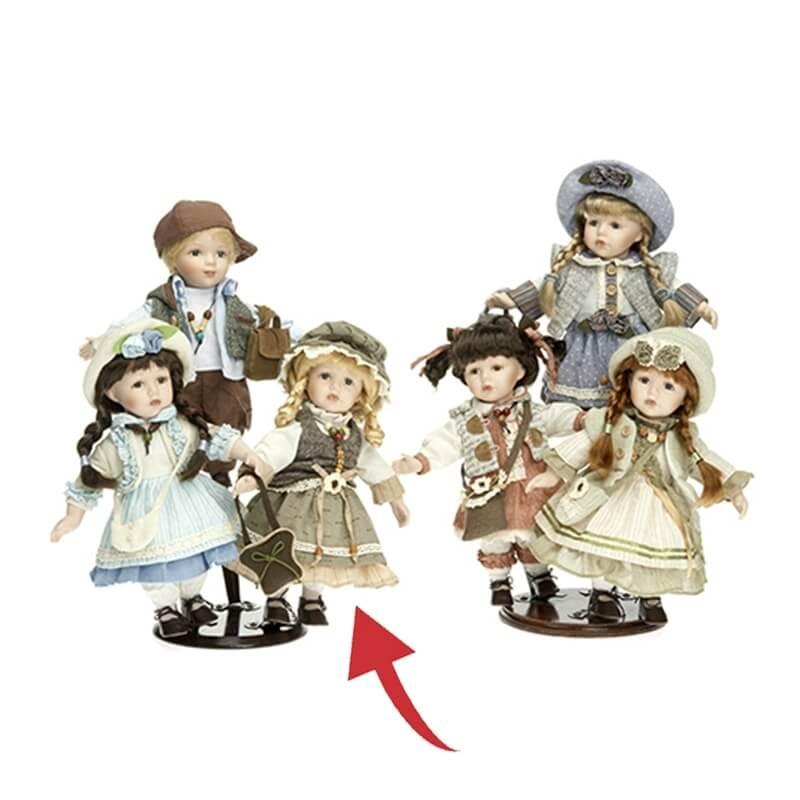 Κούκλα Πορσελάνινη Συλλεκτική RF Collection 30εκ. (120639/6)