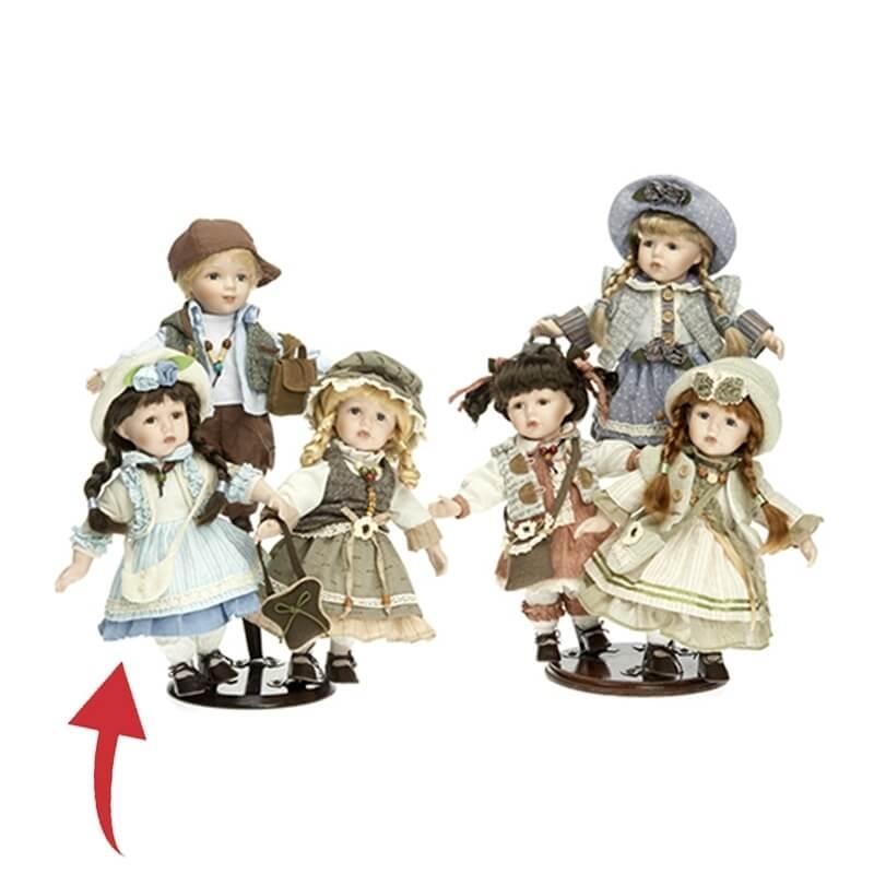 Κούκλα Πορσελάνινη Συλλεκτική RF Collection 30εκ. (120639/5)