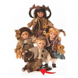 Κούκλα Πορσελάνινη Συλλεκτική RF Collection 30εκ. (117851/4)