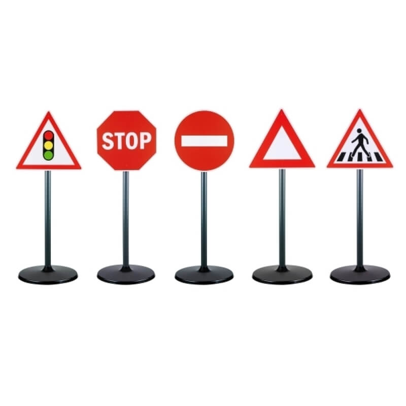 Σήματα Οδικής Κυκλοφορίας 5 τεμ.