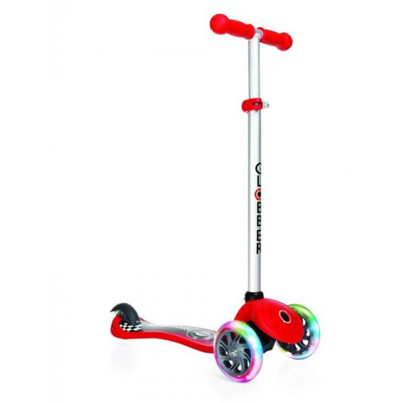 Πατίνι Globber Scooter Primo Fantasy red με τροχούς LED