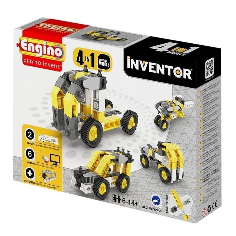 415d451ff47 Κατασκευή 4 σε 1 Δομικά Οχήματα - Engino Inventor - Κατασκευές ...