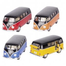 Μεταλλικό Volkswagen Classic Bus 1/32 πορτοκαλί