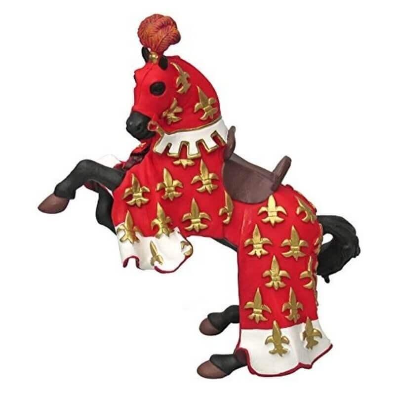 Φιγούρα Papo Άλογο του Πρίγκιπα Φίλιππου κόκκινο