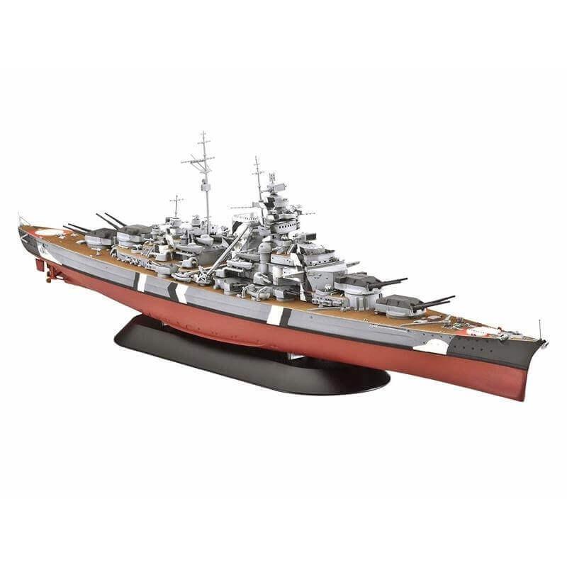 Πολεμικό Πλοίο Battleship Bismarck 1/700