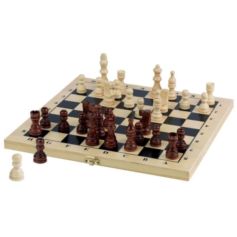 Σκάκι με Ξύλινα Πιόνια