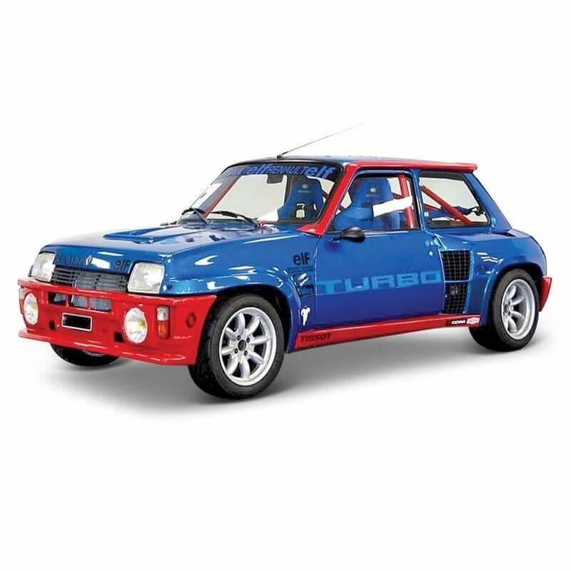 Bburago 1:24 Renault 5 Turbo μπλε