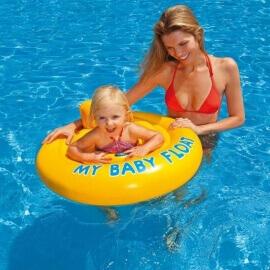 Φουσκωτό Παιδικό Σωσίβιο Κάθισμα My Baby Float 70 εκ Κίτρινο