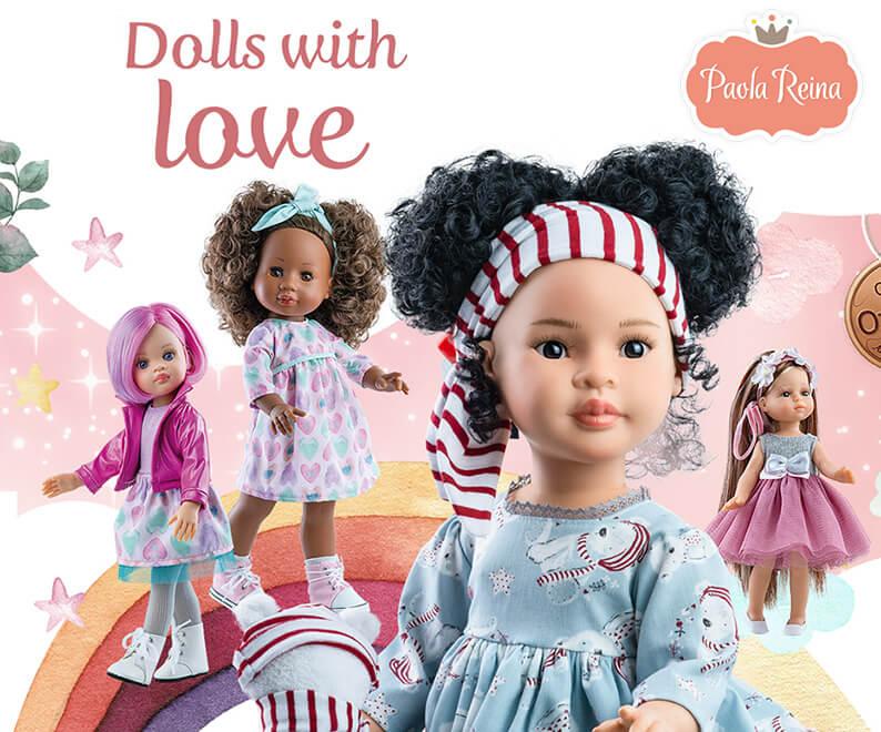 Μοντέρνες Κούκλες Paola Ρεινα