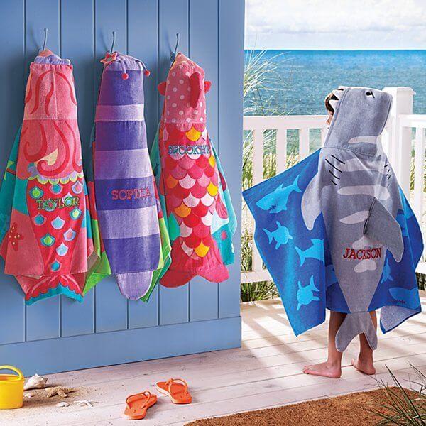 παιδικές πετσετες για τη θαλασσα stephen joseph